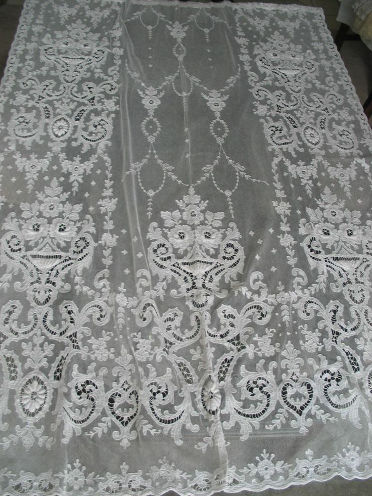 Lace Bedspreads And Curtains Lace Curtains and Swags