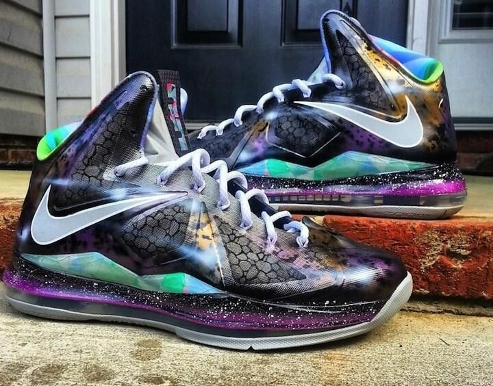 don't like lebrons but these r rly cool. Galaxy