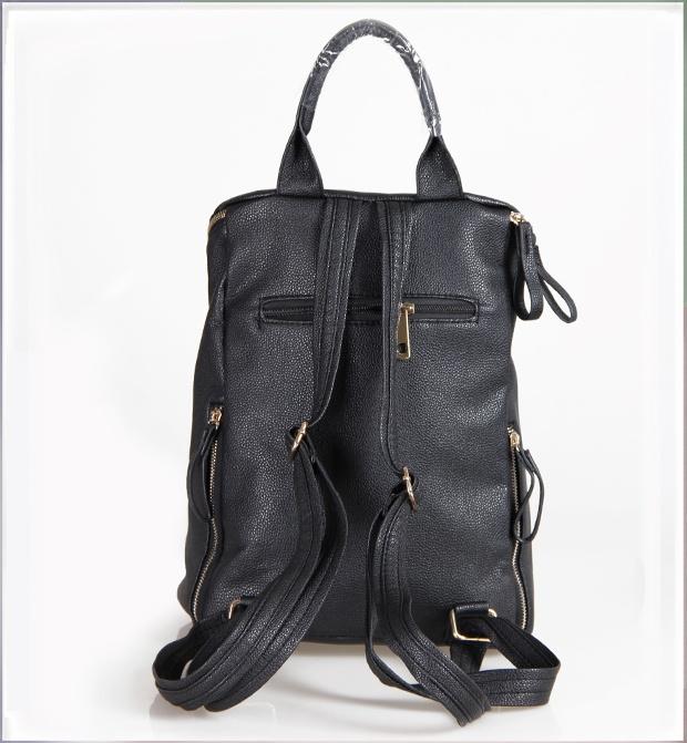Western Vintage Women s Fashion Rivet Backpack