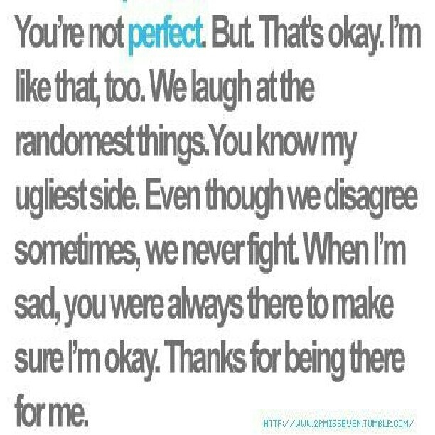 thanks for being there for me quotes quotesgram