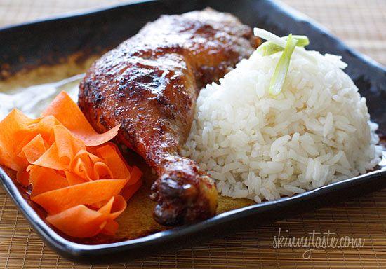 Five Spice Roasted Chicken Legs | Skinnytaste