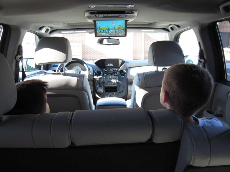 2013 honda pilot rear entertainment system