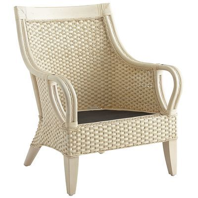 Rattan Temani Chair Antique Parchment