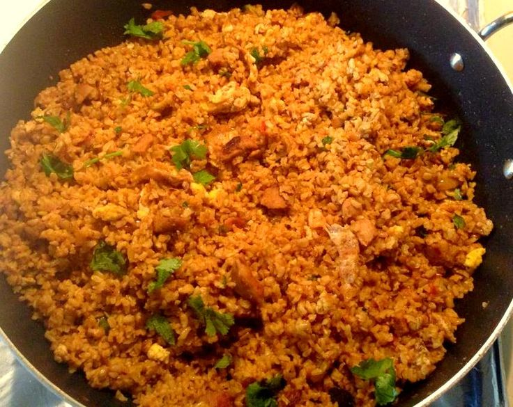 Chicken fried rice with brown rice! | Recipes | Pinterest