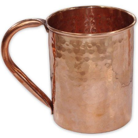 Copper moscow mule mug for cocktail amazon co uk kitchen amp home