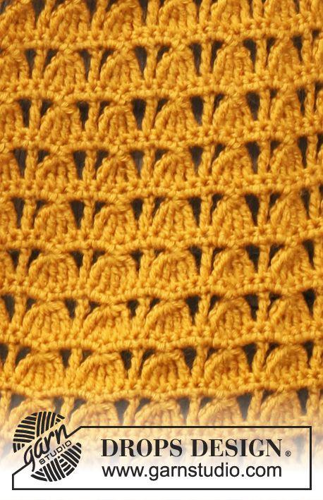 DROPS Pattern Library: Crochet patterns Yarnigans Pinterest
