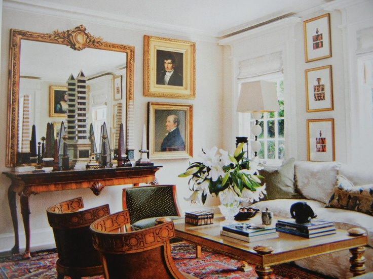 Interior Design By Robert Couturier Less Is A Bore Pinterest
