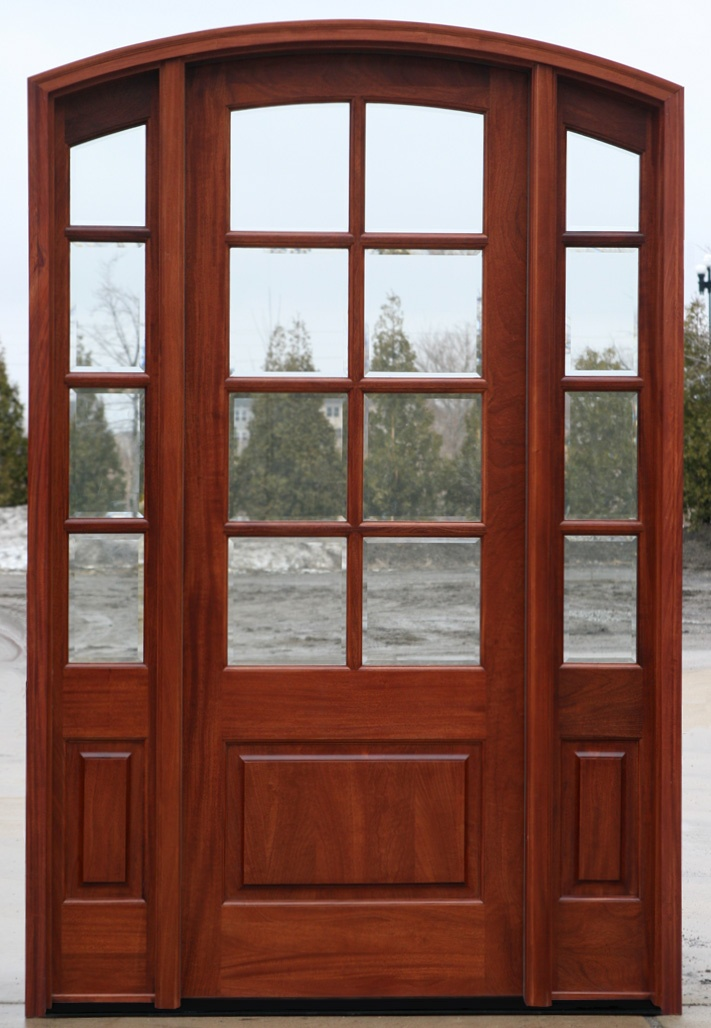 Arched french door with sidelights i got the perfect for Arched french doors