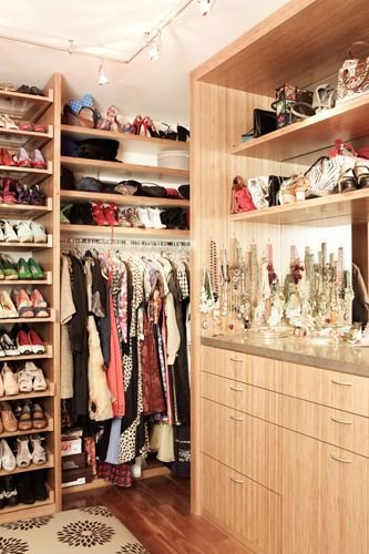 I dream of a closet like this!