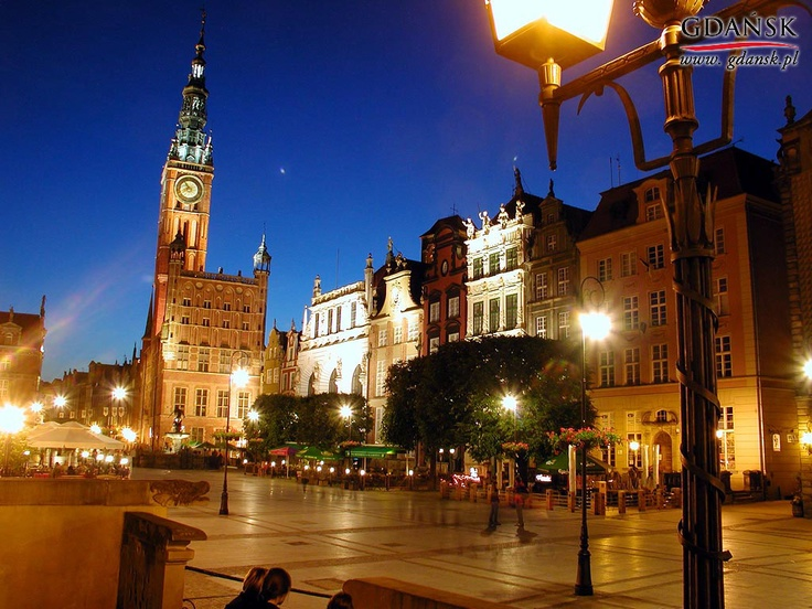 Gdansk Poland  city pictures gallery : Gdansk, Poland The old town here is very cool, and there are several ...