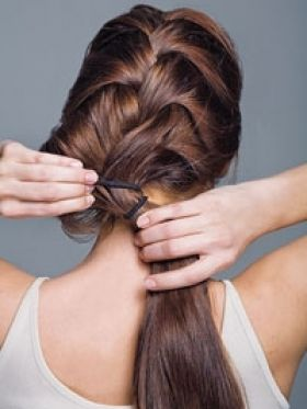 quick braided hairstyles : Quick and Easy Braided Hairstyles Beauty Pinterest