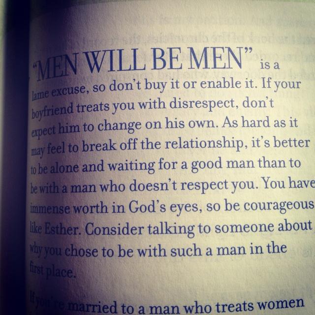 Words of wisdom for girls
