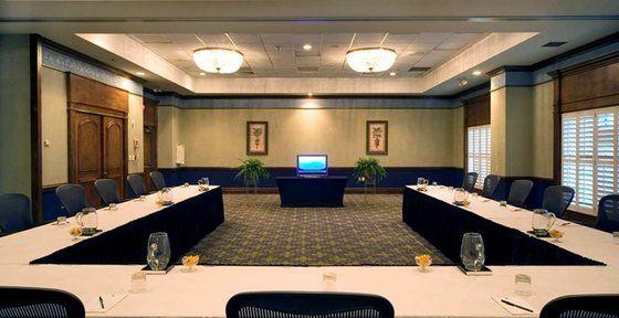 Horseshoe Classroom Design ~ Horseshoe style meeting room setup board