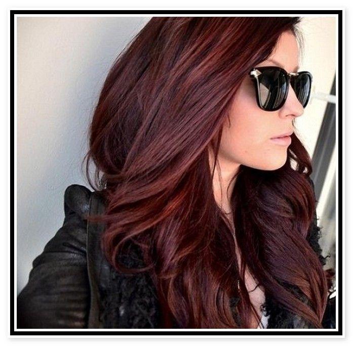 Mahogany Hair Color Ideas  Beauty  Pinterest
