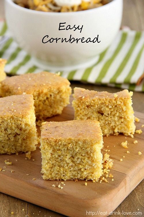 Easy Cornbread @Stephanie {Eat. Drink. Love.}