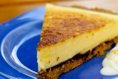 ... MEYER LEMON TART WITH A PECAN PINE NUT CRUST AND DARK CHOCOLATE RIBBON