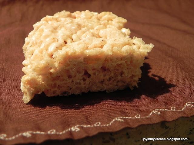 Apple Cinnamon Rice Krispie Treats   Rice Krispie Box   Pinterest