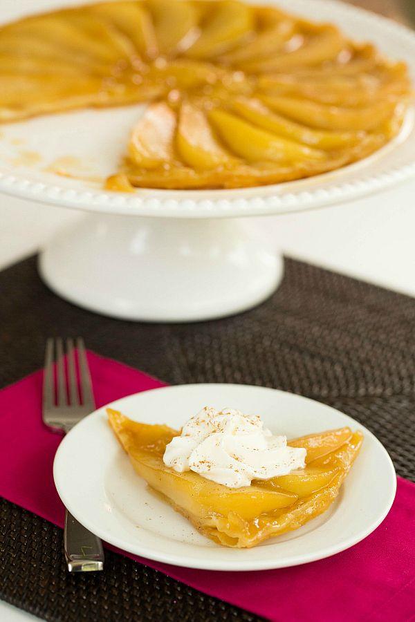 Caramelized Pear Tart by @Michelle Flynn (Brown Eyed Baker) :: www ...