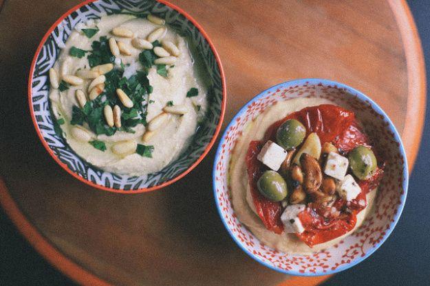 ... in Israel!!! The Best Smooth & Basic Hummus via The Jerusalem cookbook