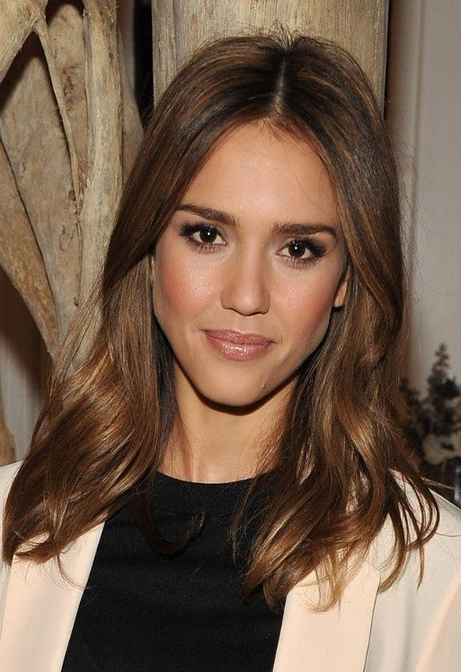 2013 jessica alba hairstyle makeup hair and makeupp