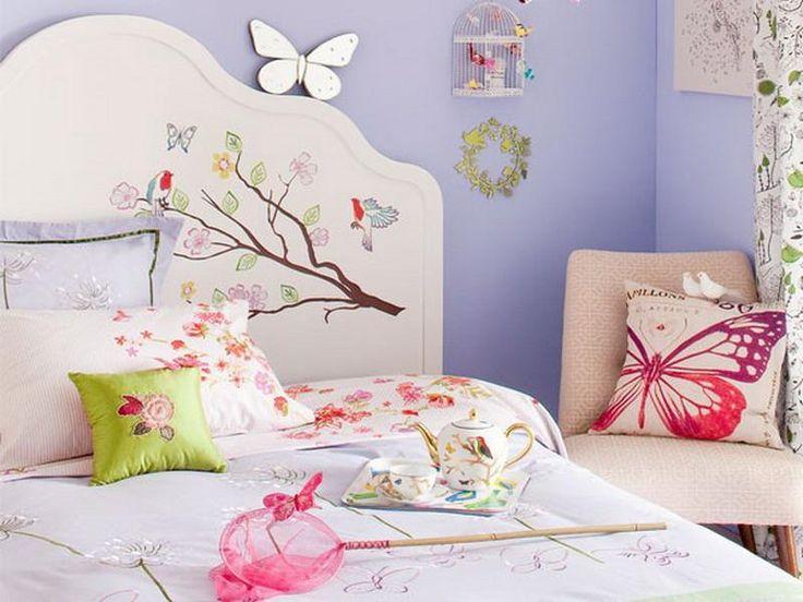 Butterfly kids room decor ideas kids room pinterest for Butterfly mural ideas