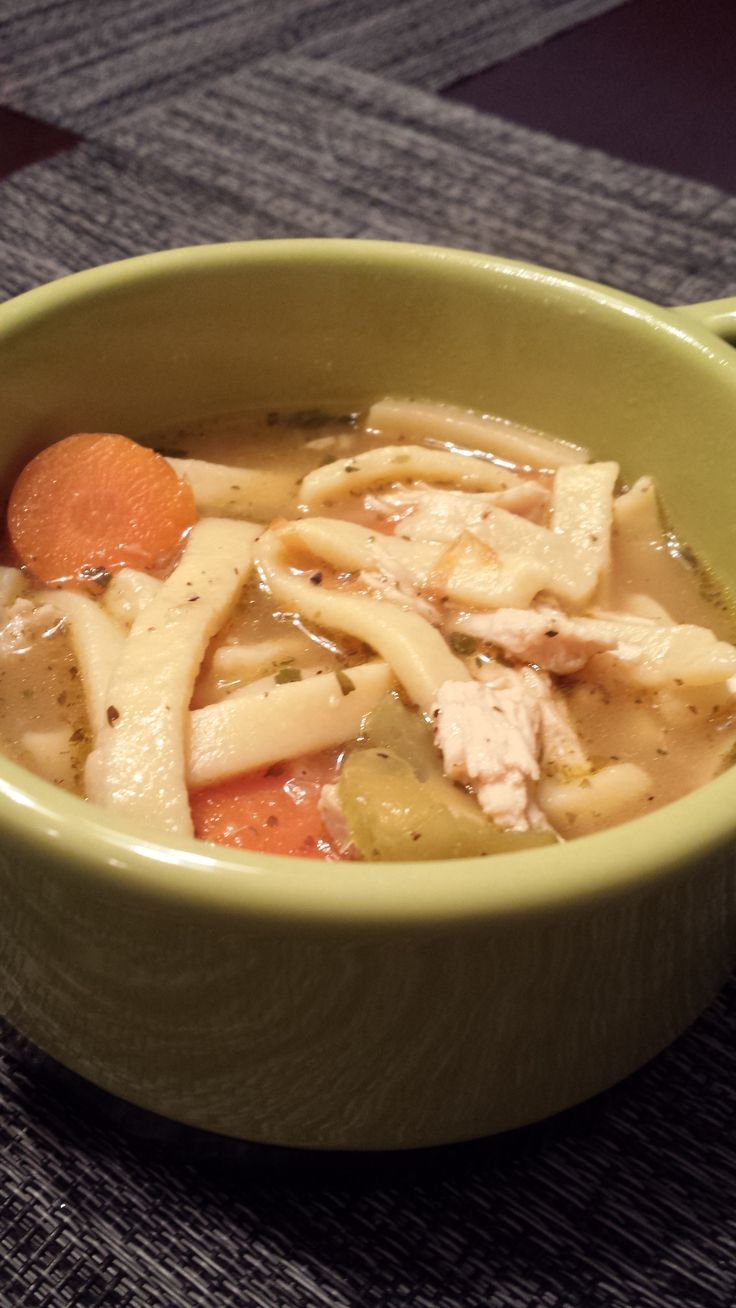 chicken noodle soup quick and easy chicken noodle soup video ...