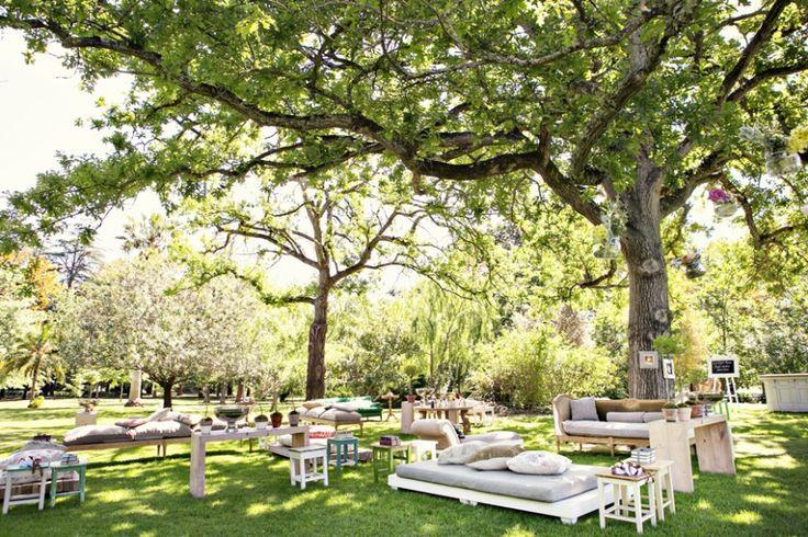 Garden setup I love | Pastel Decor | Pinterest