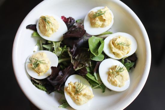 Deviled eggs at The Albert | Food LCHF/Low carb/Keto/ | Pinterest