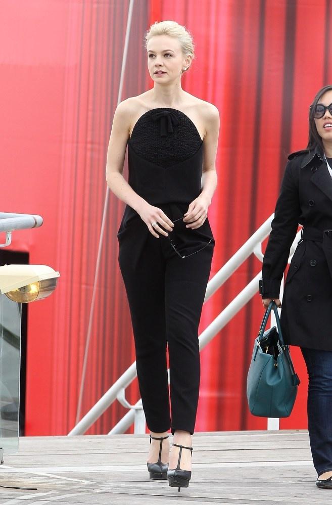 Carey Mulligan in Balenciaga at Cannes 2013