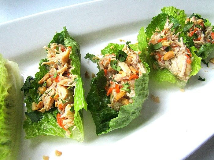 Stacey Snacks: Super Bowl Snacks: Asian Chicken Lettuce Wraps