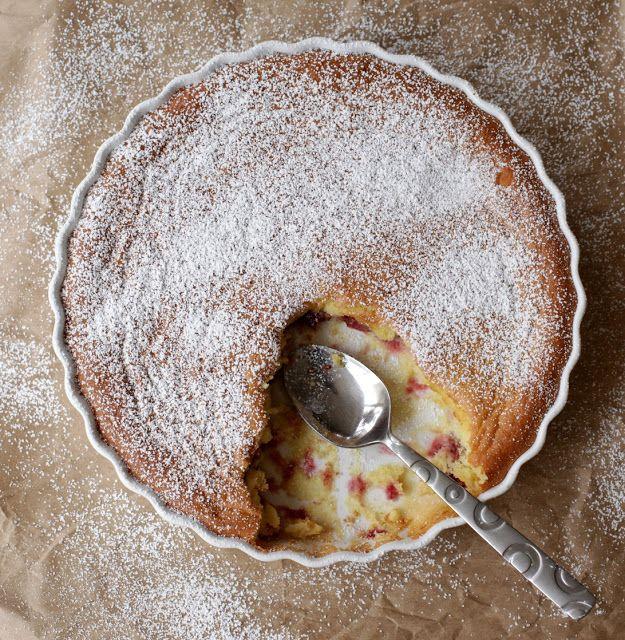 Sour Cherry Cake (Kolač sa višnjama) | Cherry | Pinterest