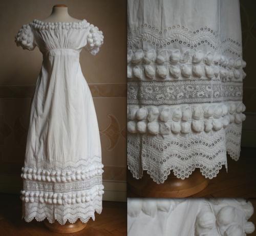 Vintage morning dress (1819)