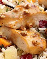 -Bourbon Pecan Chicken - a knock-off of Lean Cuisine's Pecan Chicken ...
