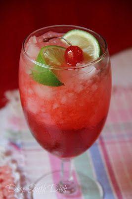 Deep South Dish: Cherry Limeade