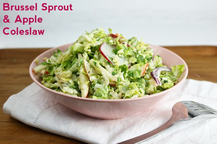 Brussel Sprout Coleslaw | Recipe
