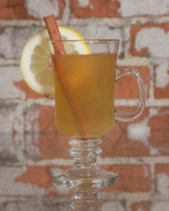 Hot Toddy: whiskey, tea, honey, lemon. | Delicious Drinks | Pinterest
