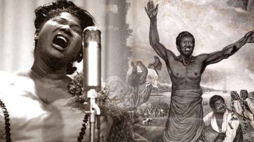 Mahalia Jackson in song -- A slave in exhortation