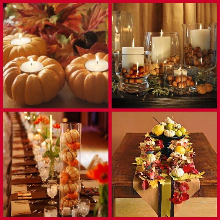 Pinterest Wedding Decorations: Pinterest Fall Wedding Ideas