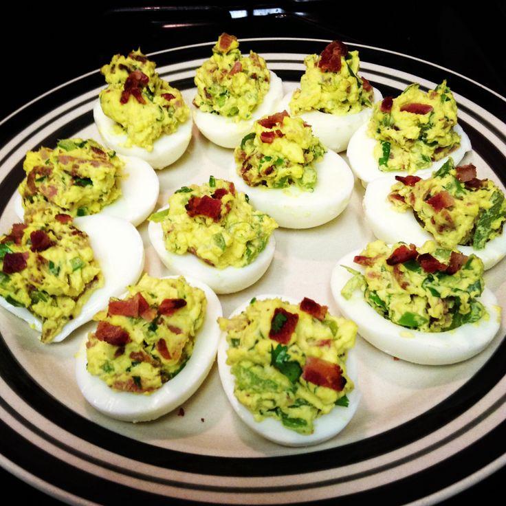deviled egg easter chick deviled eggs denver green chili green chile ...