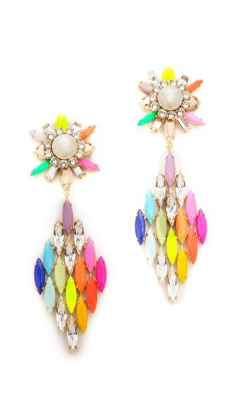 Shop now: Shourouk Cobra Earrings
