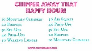 Happy Hour Workout | Fit camp | Pinterest: pinterest.com/pin/418623727834260817