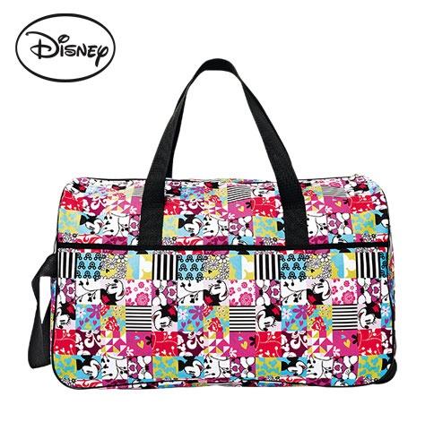 So cute!!  Mickey Mouse Rolling Duffle  $39.99