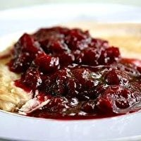 Spicy Cranberry Sauce with Pinot Noir by Simply Recipes