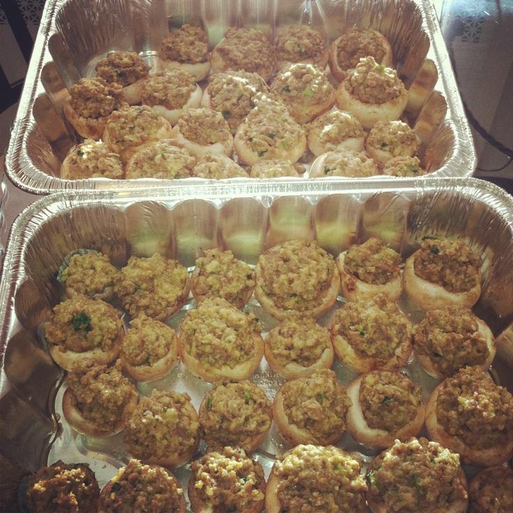 ... Stuffed Mushrooms Ina Garten recipe amazing everytime ! Use crab