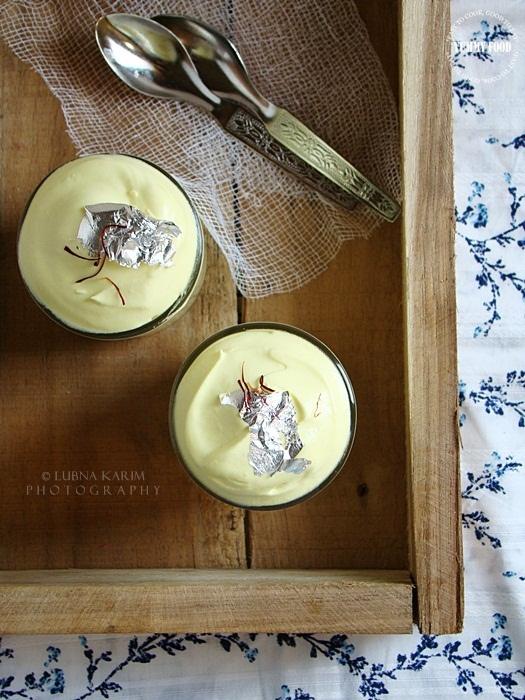 Saffron Mousse | Cooking | Pinterest