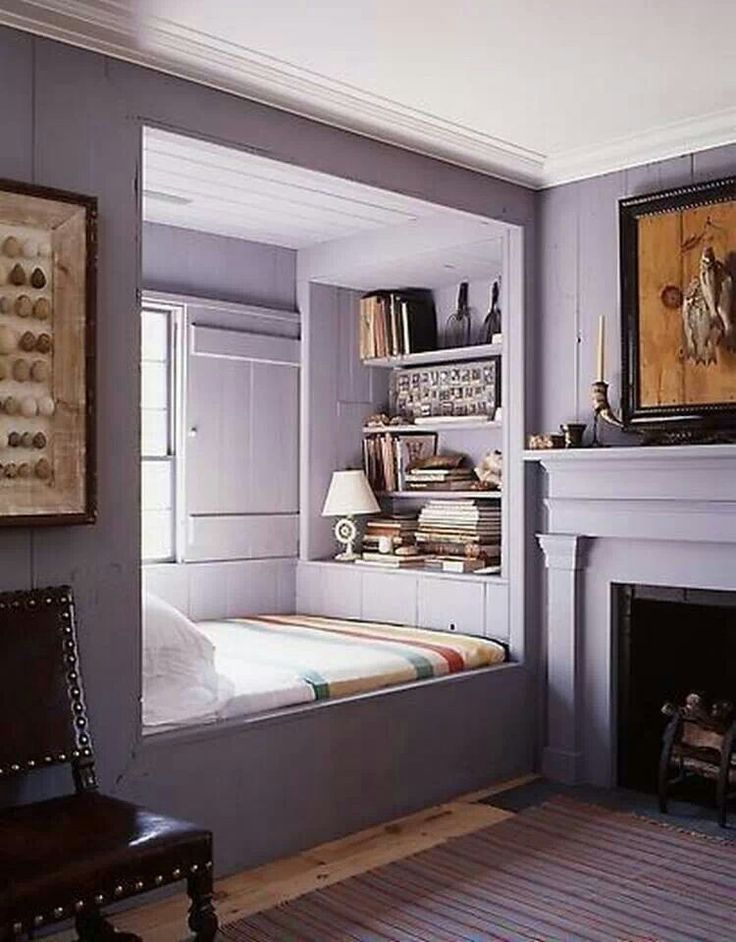 Alcove Bed Set Saves Space In Bedroom Addie 39 S Pinterest