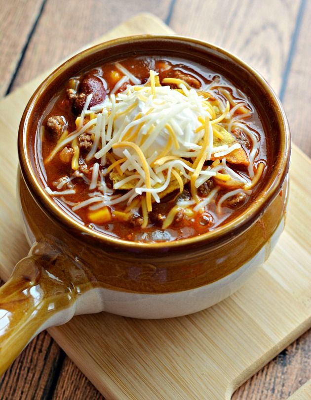 Slow Cooker Taco Soup | Recipe
