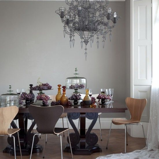 Modern gothic dining room miscellane ous pinterest for Gothic dining room design ideas
