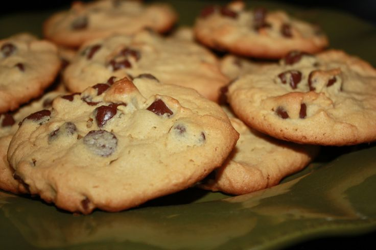 Super Soft Chocolate Chip Cookies | Cookies/Bars | Pinterest