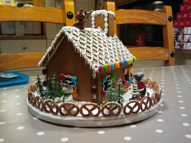 Gingerbread House | Gingerbread house ideas. | Pinterest